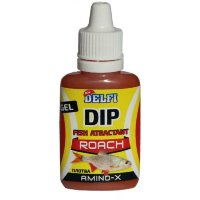 Аттрактант зимний DELFI DIP WINTER GEL ROACH (плотва, аромат AMINO, 20 мл)